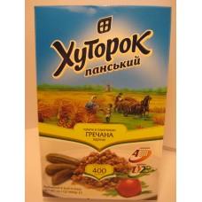 Крупа гречневая Хуторок в пакетиках 4*100г