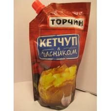 """Кетчуп """"Чесночный"""" /Торчин Продукт/ д\пак, 300 г"""