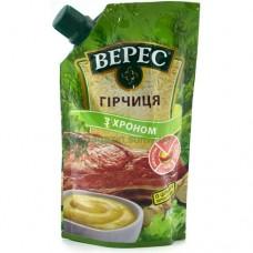 """Горчица    """"Верес"""" С ХРЕНОМ д/п 140гр"""