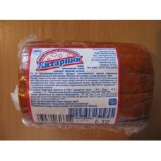 Сырный колбасный копченый продукт /3 батона/ (вакуум) , 1кг