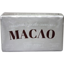 Масло вершкове Сорочинське 73% 200гр