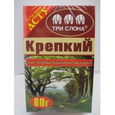 Чай КРЕПКИЙ чорн байх/лист 80г