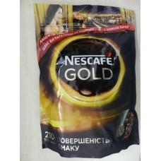 """Кофе ЭКОНОМ пакет """"Нескафе Голд"""", 210 г"""