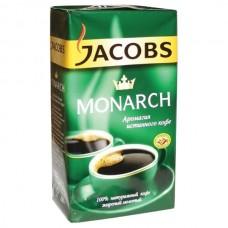 Кава мел. JACOBS Монарх класична 225г
