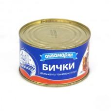 """Бычки """"АКВА"""" Т/С №6, 240 г"""