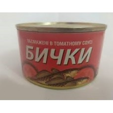 "Бычки   ""Знатна рыбка"" т/с 240 г"