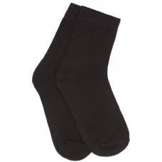 Носки черные махровые /пара/