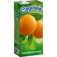 Сок Садочек Апельсин 1л