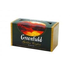 Чай Грінфілд Золотий Цейлон чорн. 25п