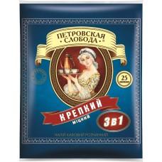 Кофе Петровская Слобода КРЕПКИЙ //синяя// 3в1 20г шт