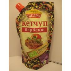Кетчуп Щедро Барбекю 300г