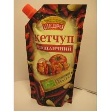 Кетчуп Щедро Шашлычный 300г