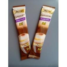Напій кавовий Jacobs Cappuccino 3в1 в стіках 13г