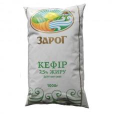 Кефир Зарог 2,5% 900г (договор)