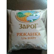 Ряженка Зарог 3,2% 500г (договор)