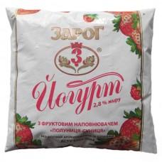 Йогурт ТМ Зарог 2,8% 400г (договор)