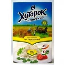 Крупа рис Хуторок круглый в пакетиках 4*100г