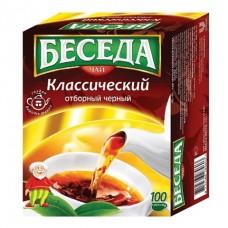 Чай Беседа !!КАРТОН УП.!! 80 г