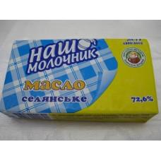Масло сливочное НАШ МОЛОЧНИК 72% 200г