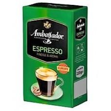 """Кофе """"Амбассадор"""" молот. 225г"""